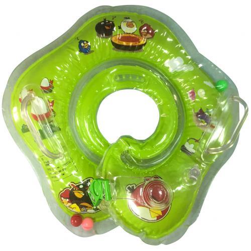 Надувной круг для младенцев Angry Birds с бубенчиками оптом