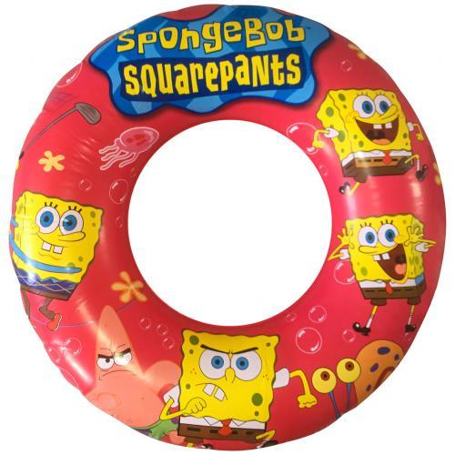 Надувной круг Спанч Боб 60 см оптом