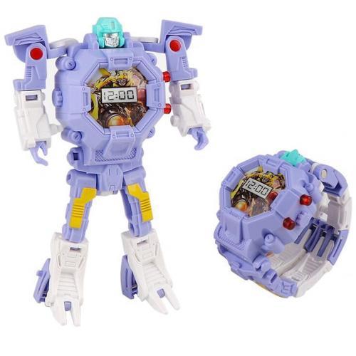 Детские часы-трансформер Robot Watch оптом