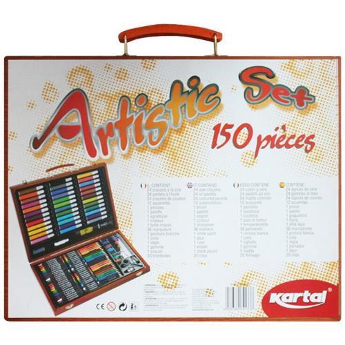 Набор для детского творчества Artistic Set из 150 предметов оптом