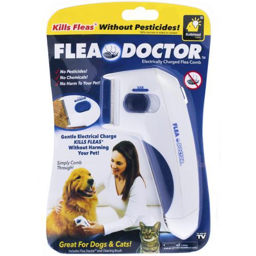 Щетка для вычесывания блох у животных Flea Doctor оптом