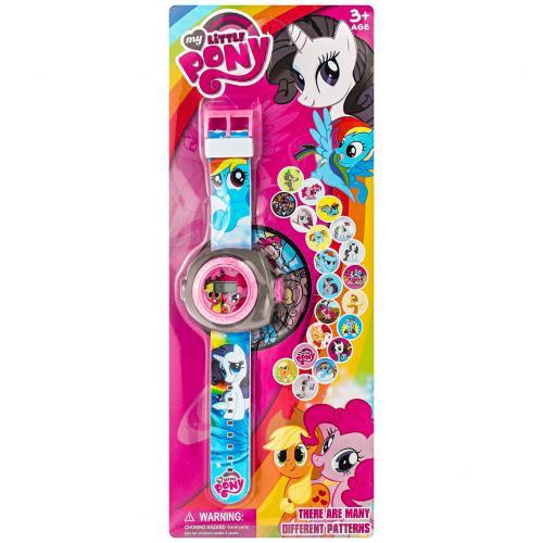 Детские часы My Little Pony с проектором оптом