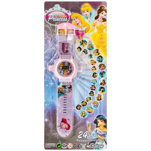 Детские часы Princess Time с проектором оптом