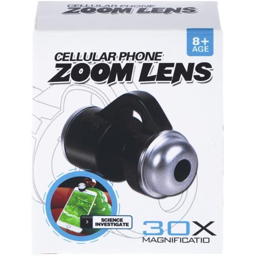 Объектив для смартфонов Cellular Phone Zoom Lens 30x оптом