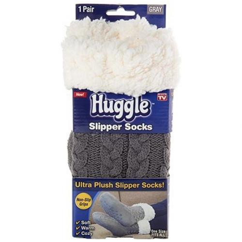 Тапочки носки Huggle Slipper Socks оптом