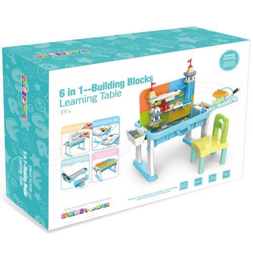 Развивающий столик Building Blocks Learning Table оптом