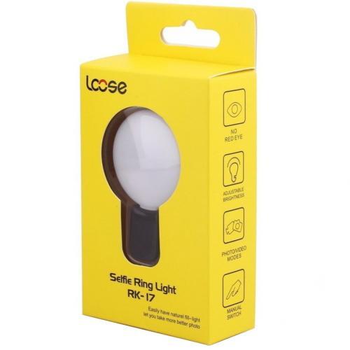 Селфи-кольцо Selfie Ring Light RK-17 оптом