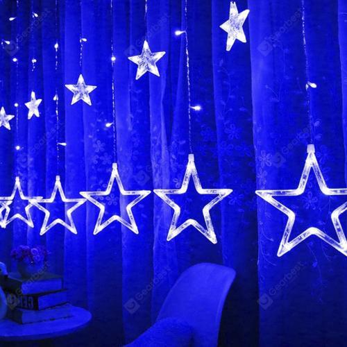 Светодиодная гирлянда Звезды Five-pointed Star оптом