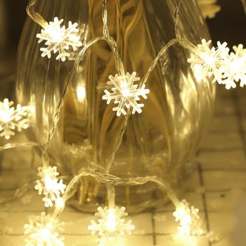 Гирлянда светодиодная Снежинки 3,6 м оптом