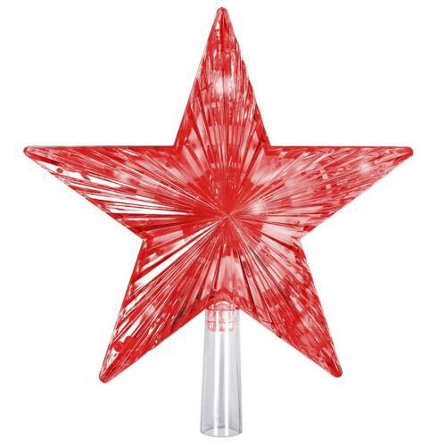 Гирлянда-верхушка на ёлку Звезда оптом