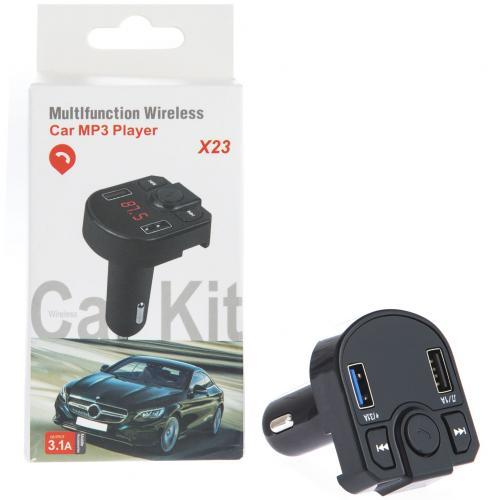 Автомобильный FM модулятор Car MP3 Player X23 оптом