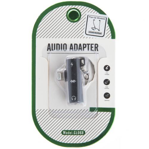 Аудио-адаптер Audio Adapter GL068 Lightning оптом