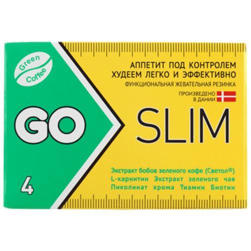Жевательная резинка для похудения Go Slim Gum оптом