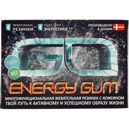 Энергетическая жевательная резинка Go Energy Gum оптом