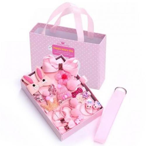 Детский подарочный набор заколок Happy Every Day оптом