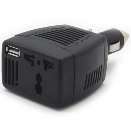 Автомобильный инвертор Eplutus PW-75 с USB портом оптом