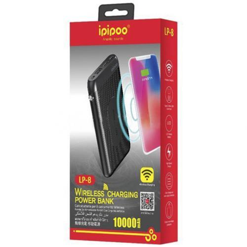 Power Bank Ipipoo LP-8 10000 mAh с беспроводной зарядкой оптом