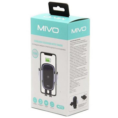 Автомобильный держатель с беспроводное зарядкой Mivo MZ12 оптом