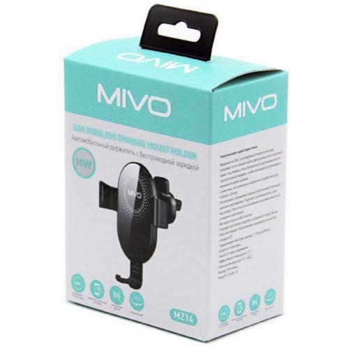 Автомобильный держатель с беспроводное зарядкой Mivo MZ14 оптом