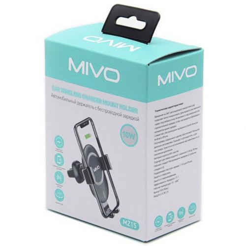 Автомобильный держатель с беспроводное зарядкой Mivo MZ15 оптом