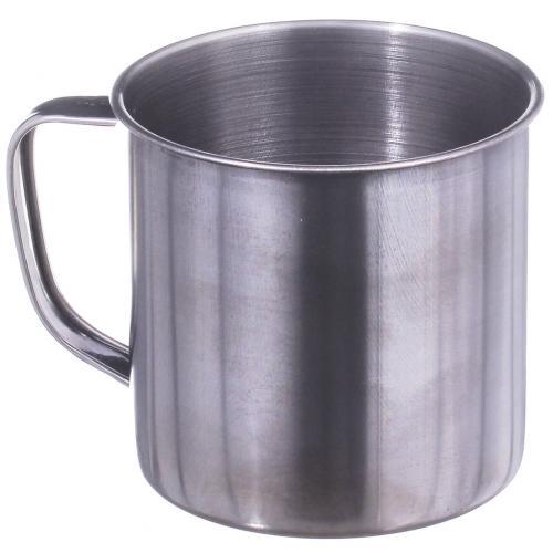 Кружка металлическая нержавеющая 10 см оптом