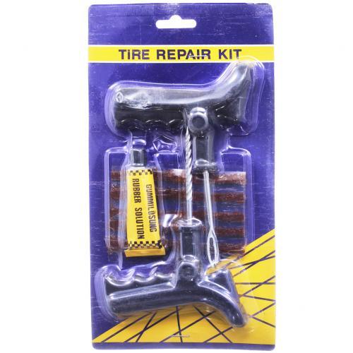 Комплект для ремонта бескамерных шин 8 предметов оптом