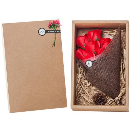 Подарочный набор Букет из мыльных роз оптом