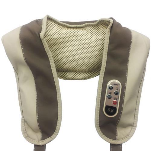 Ударный вибромассажер для спины плеч и шеи Cervical Massage Shawls оптом