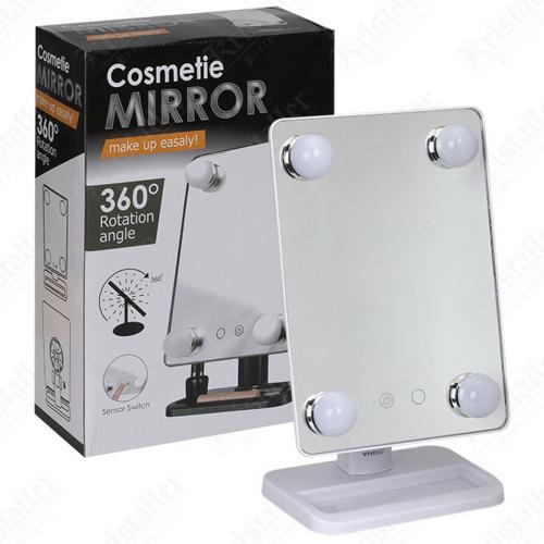 Зеркало для макияжа Cosmetie Mirror с подсветкой оптом
