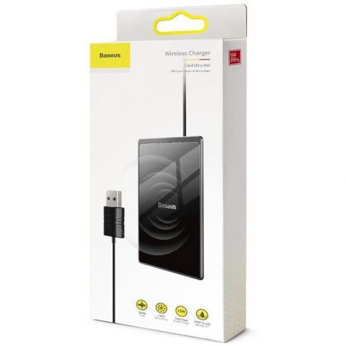 Беспроводное зарядное устройство Baseus Card 15W оптом