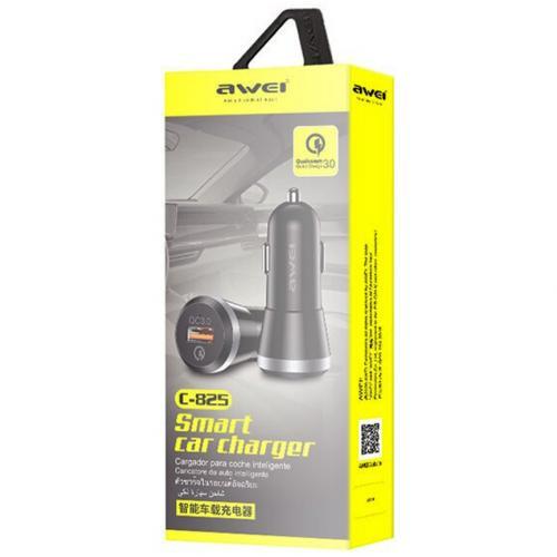 Автомобильное зарядное устройство Awei C825 оптом