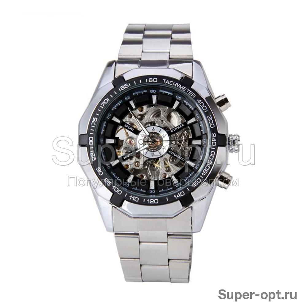Наручные часы Winner Skeleton Steel оптом