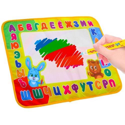 Коврик для рисования водой Веселый алфавит оптом