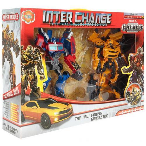 Робот-трансформер Inter Change оптом