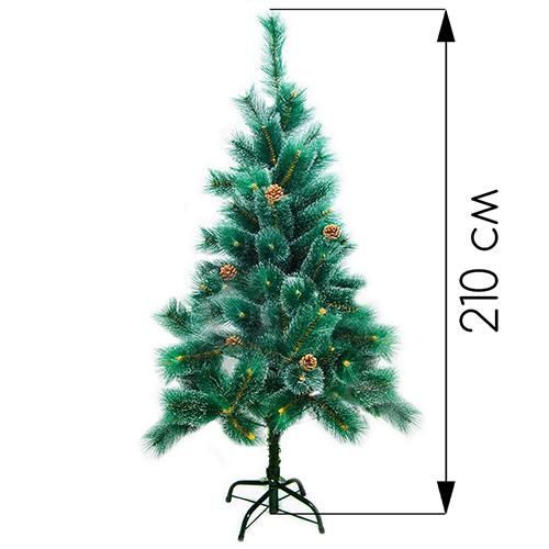 Новогодняя ёлка оптом (210 см)