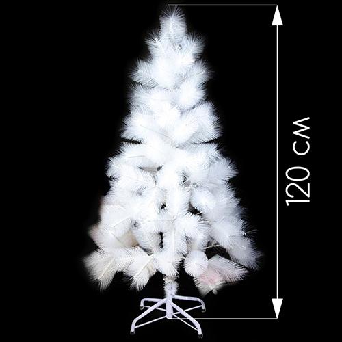 Новогодняя ёлка белоснежная оптом (120 см)