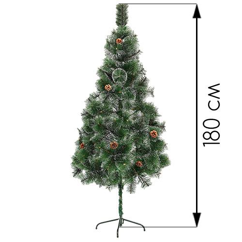 Новогодняя ёлка оптом  180 см (фабричная)