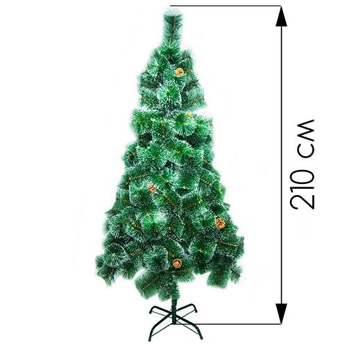Новогодняя ёлка оптом  210 см (фабричная)