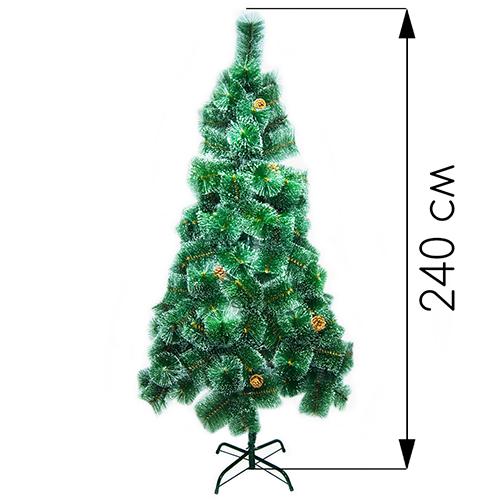 Новогодняя ёлка оптом  240 см (фабричная)