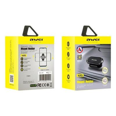 Aвтомобильный магнитный держатель для телефона Awei X20 оптом