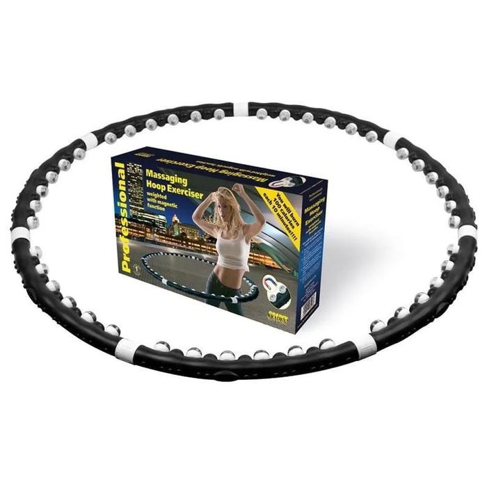 Обруч массажный с магнитами Massaging Hoop Exerciser оптом