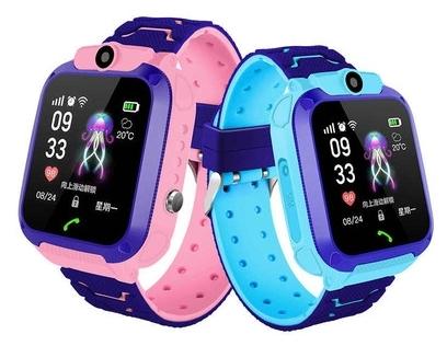 Детские умные смарт-часы с SOS-вызовом и функцией аудиозвонка Zdk S12 оптом