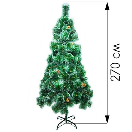 Новогодняя ёлка оптом 270 см (фабричная)